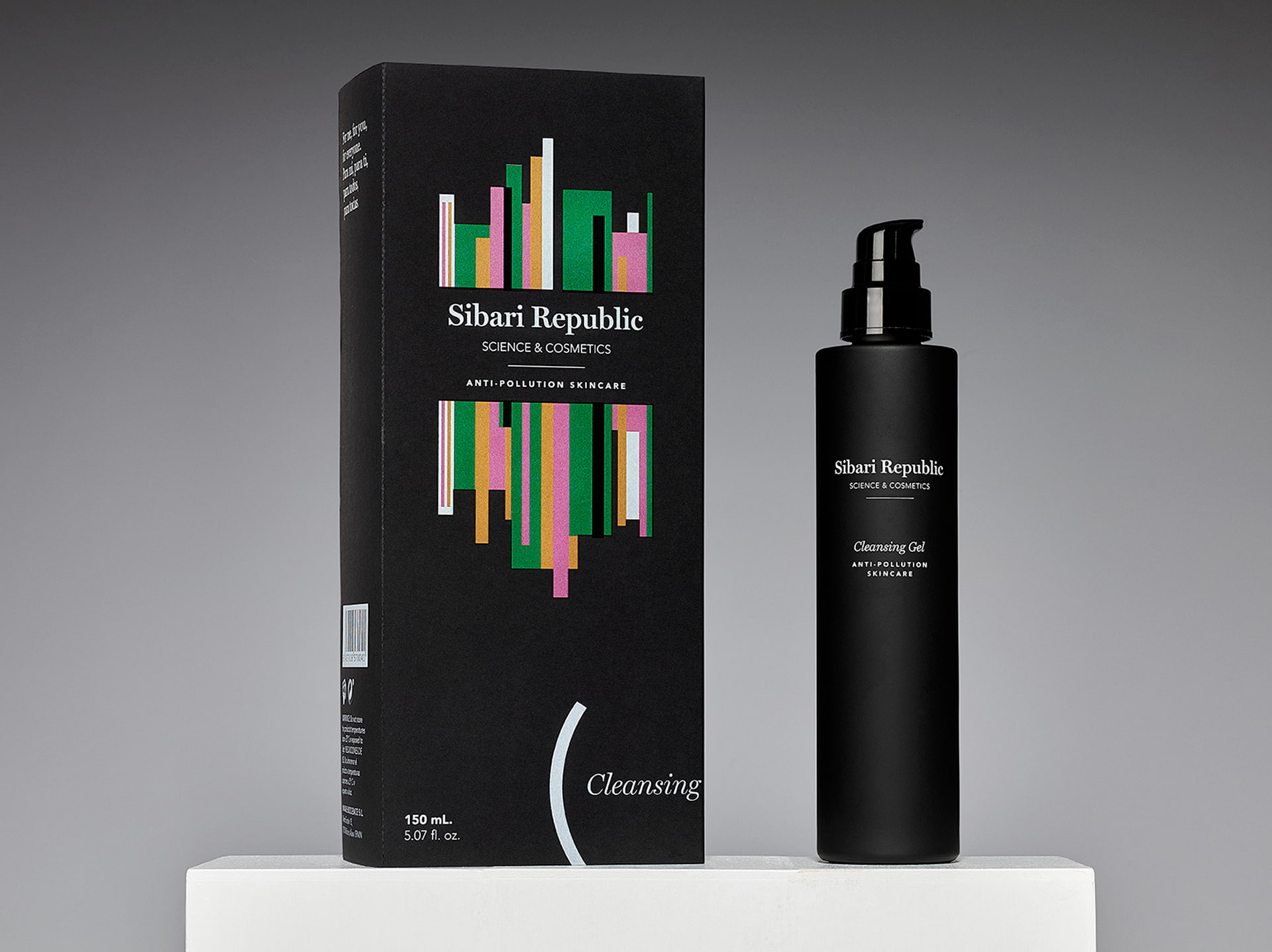 diseño de packaging anti-pollution skincare