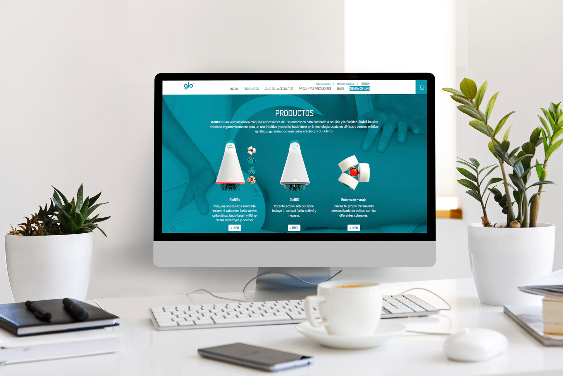 pagina web producto cuidado femenino