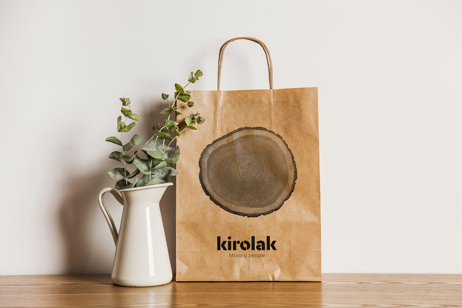 Bolsa de papel Kirolak